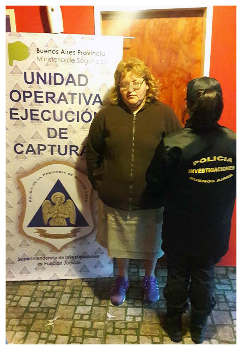Detuvieron a la hermana del narco apodado gordo Toti