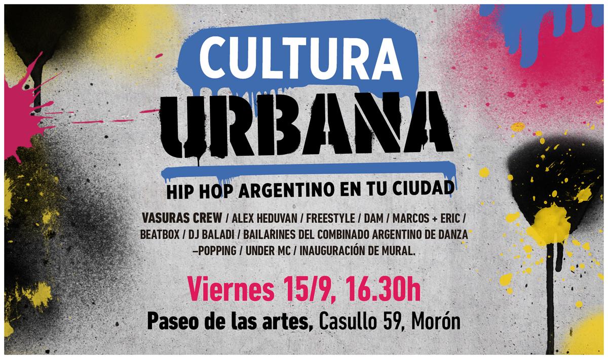 Arte Urbano y Hip Hop Moron