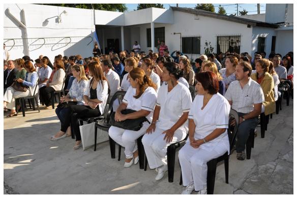 Ituzaing la escuela municipal de enfermer a abre su for Sello del ministerio del interior