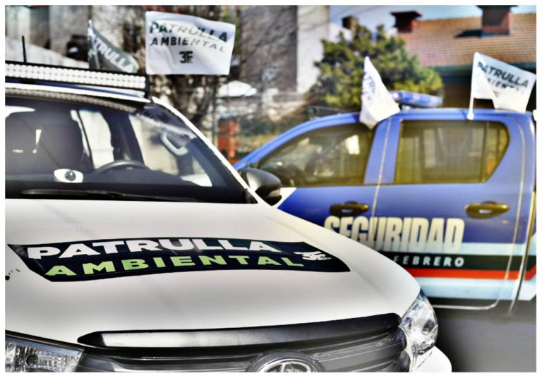 Tres de Febrero: Nueva patrulla ambiental en el distrito